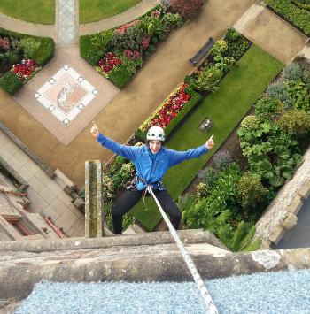 Register to Abseil Belfast Castle and raise vital funds for our global neighbours in countries like Haiti