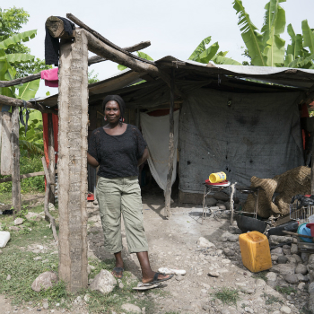 Jocelyne lost her home and her safety when Hurricane Matthew destroyed struck. Will you help families like Joceylne this Christian Aid Week