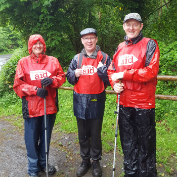 Walkers from 2017's Slieve Bloom Hike