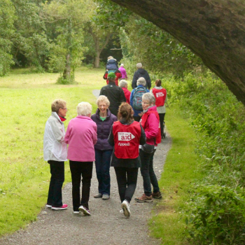Laganside Walk is enjoyed by many in the Belfast area