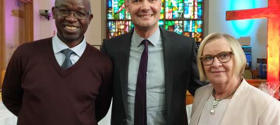 Bob Kikuyu, Christian Aid's Senior Advisor on Theology and Church Partnerships, was moved to reflect on climate change when he visited Northern Ireland earlier this year.