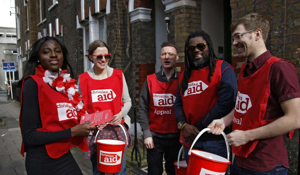 Collectors for Christian Aid Week