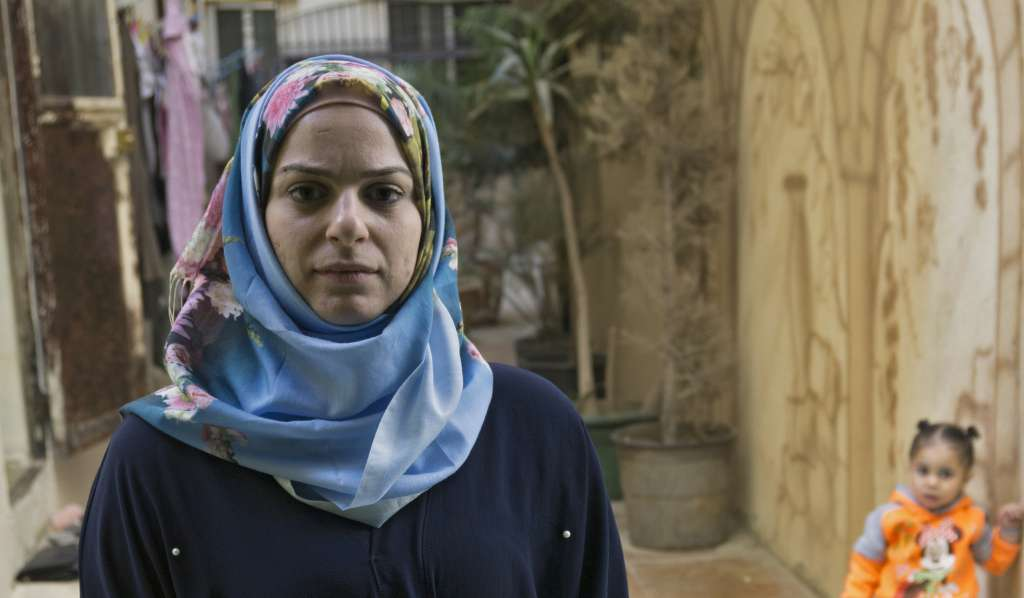 Diana Abbas is a psychologist working at a children's centre in Palestine