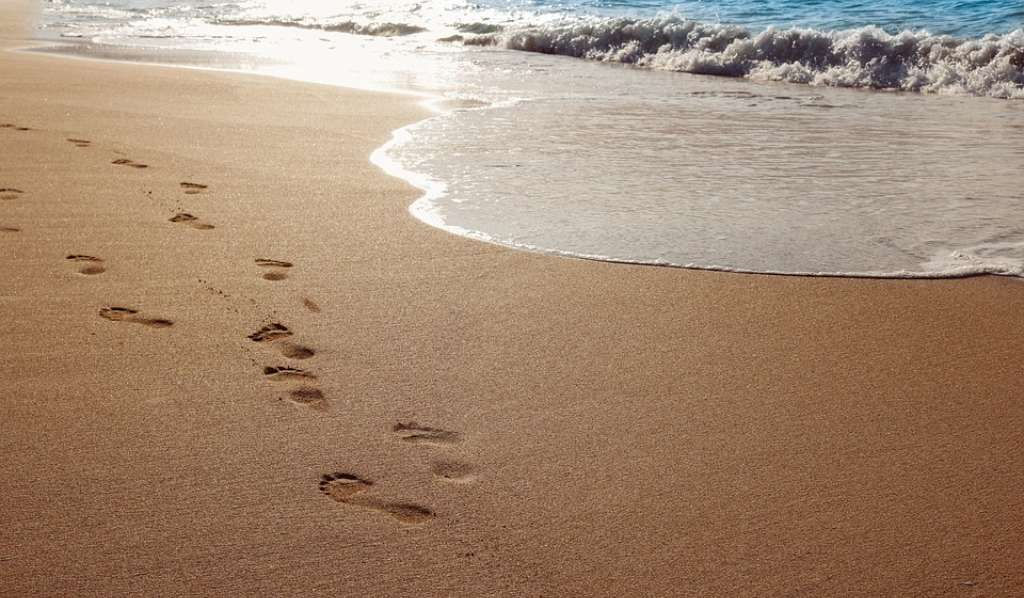 Footprints - journey through Lent with Christian Aid's daily reflections