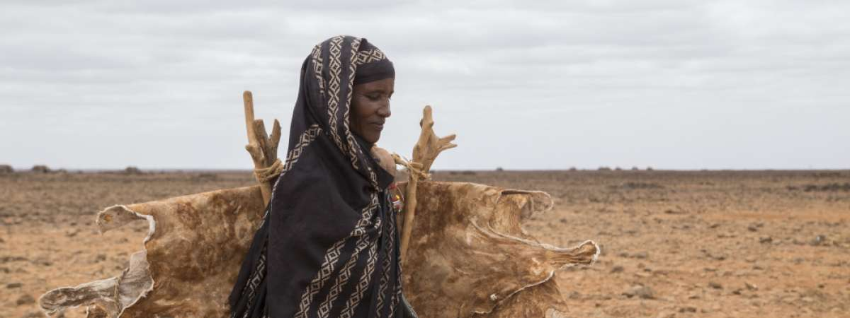 Dimma, a lady in northern Kenya.