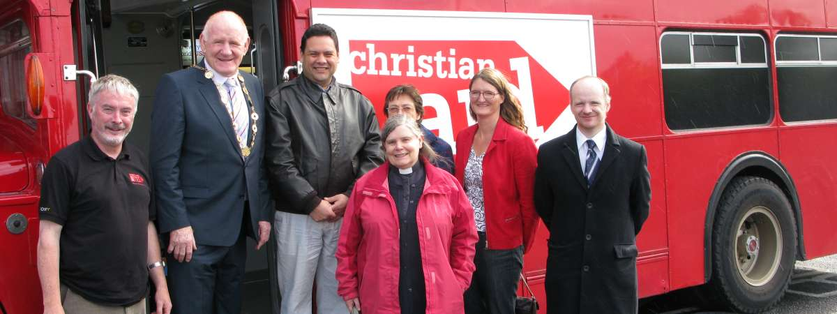 Christian Aid supporters taking action on tax justice