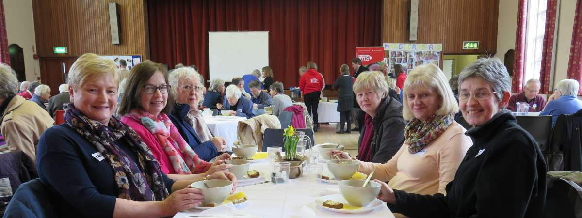 Will your church or community organise a Christian Aid Lunch