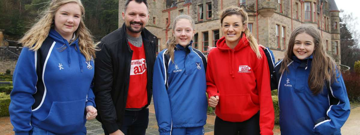 MMA world champion Leah McCourt will abseil Belfast Castle with pupils from Glenlola Collegiate Bangor