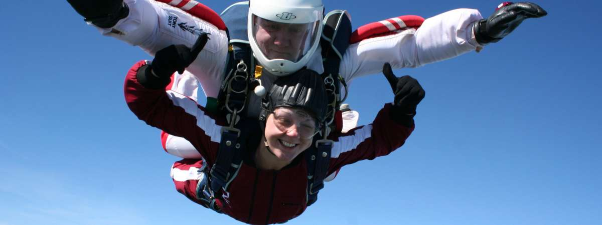 skydive and raise vital funds for Christian Aid's work