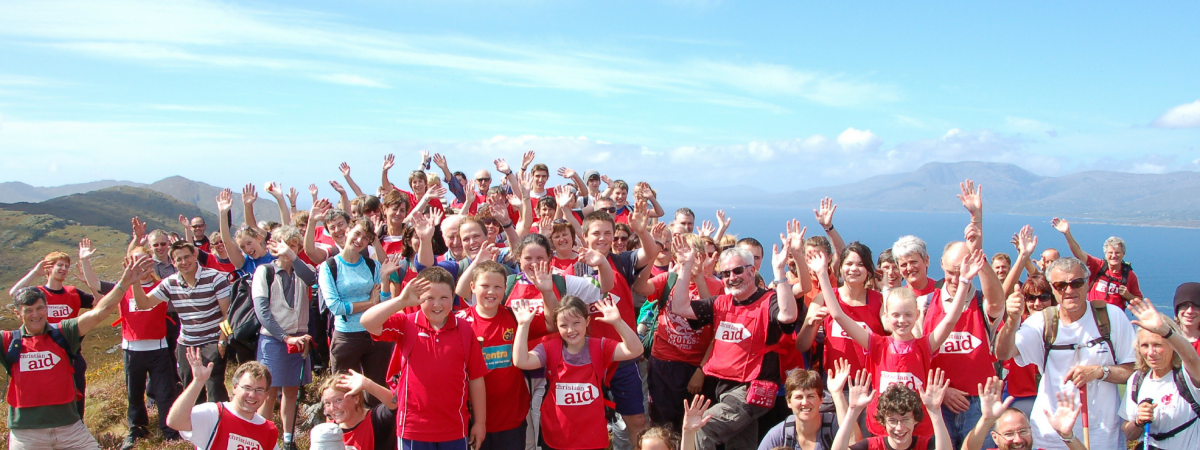 Christian Aid's annual Sheep's Head Hike celebrates it's tenth anniversary