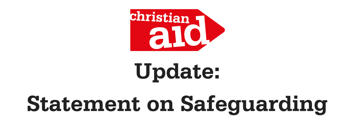 Updated safeguarding statement from Chief Executive Rosamond Bennett
