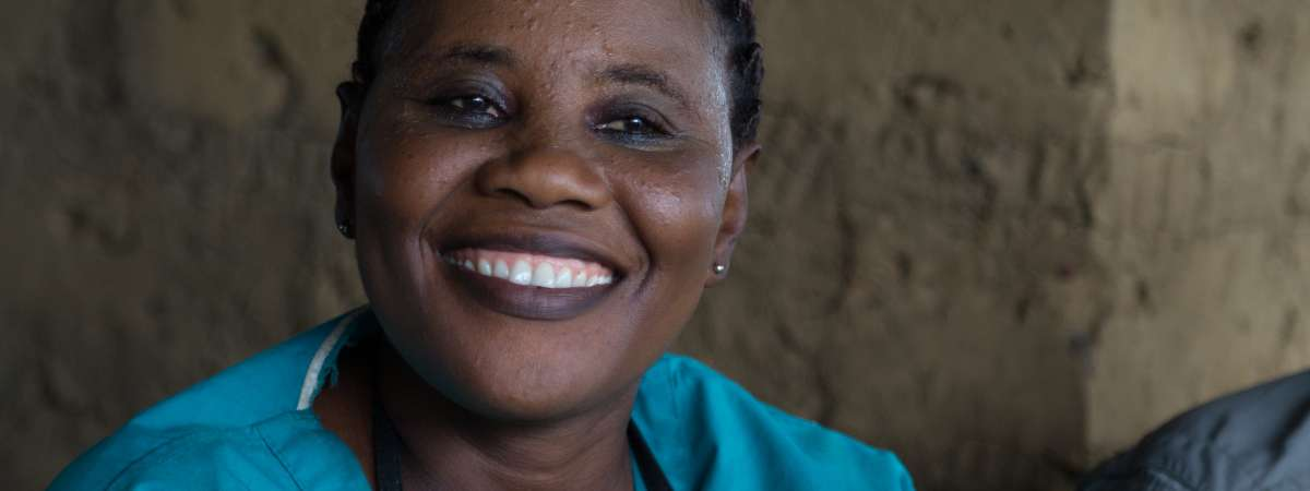 Nurse Judith An extraordinary woman providing a lifeline to families in Sierra Leone