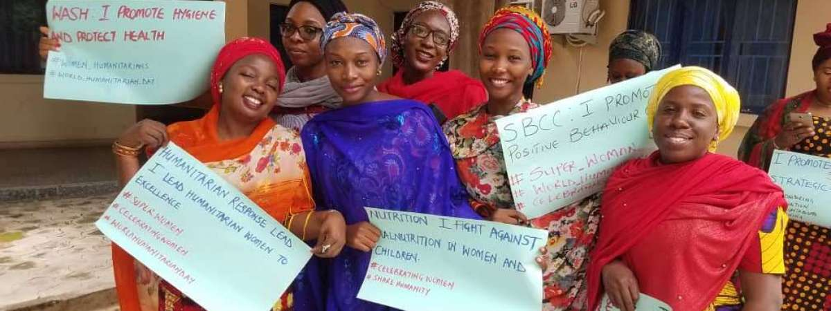 Women humanitarians in Nigeria