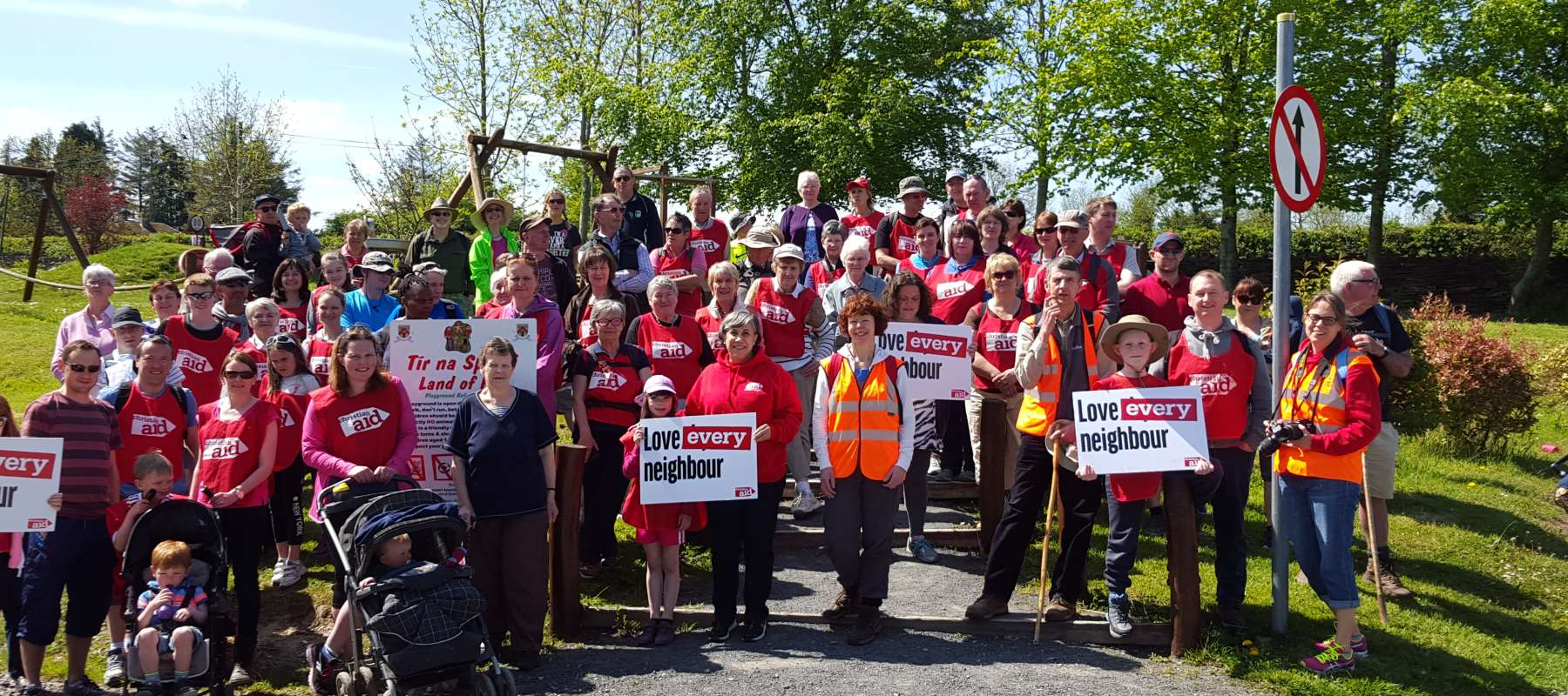 Christian Aid Week Slieve Bloom Hike event
