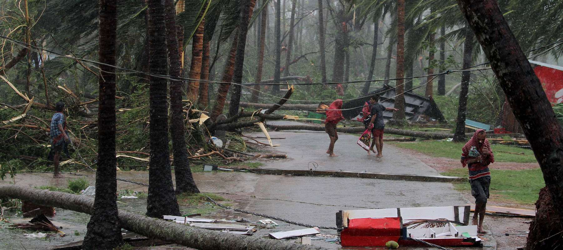 Cyclone Fani has caused devastation in India and Bangladesh