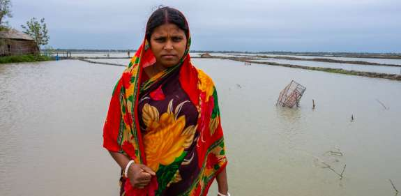 Shikha in Bangladesh is fighting climate change