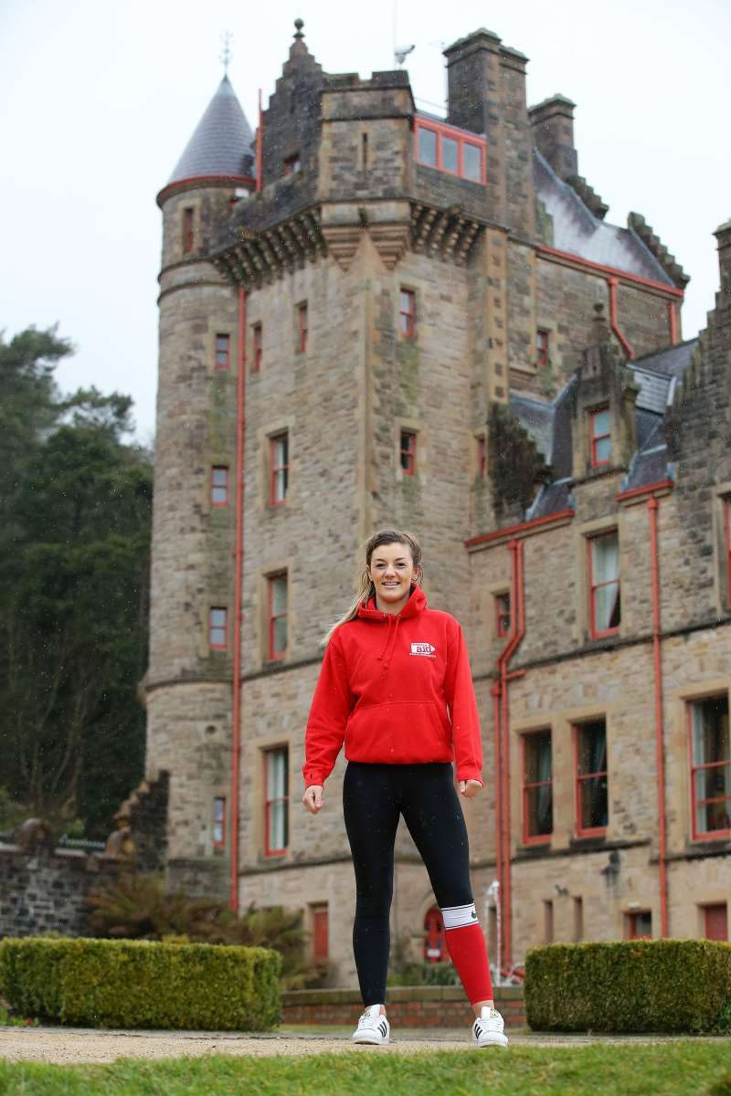 Northern Ireland's MMA world champion Leah McCourt will abseil Belfast Castle for Christian Aid