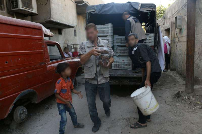 Christian Aid works in Syria