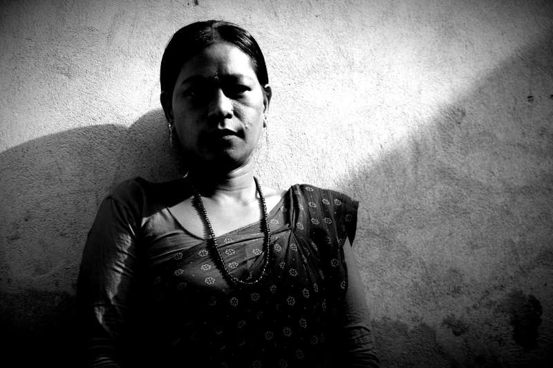 Shanti is a victim of abuse from Nepal