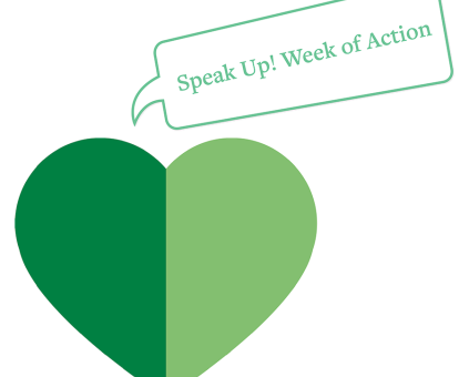 Speak Up Week of Action logo