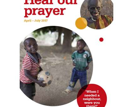 Prayer diary Apr-Jul 2017 cover