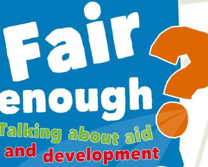 Fair Enough school resource from Christian Aid Scotland and Oxfam