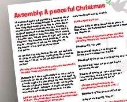 A school assembly from Christian Aid to use this Christmas