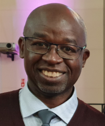 Rev Bob Kikuyu visited Northern Ireland in 2019