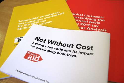 Not without cost Christian Aid tax justice booklet