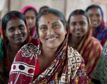 Ladies in Bangladesh, who have benefited from the support of Christian Aid