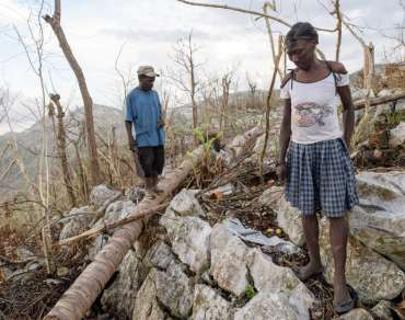 Plantations in Haiti destroyed by storms