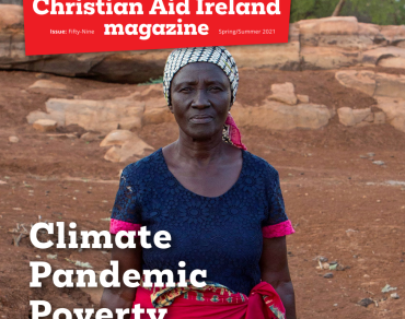 Cover of Christian Aid Ireland supporter magazine Spring/Summer 2021