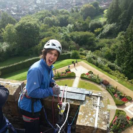 Will you abseil Belfast Castle and help raise vital funds for Christian Aid's global work to eradicate poverty?