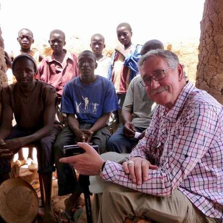 Bishop Trevor Williams visits Christian Aid beneficiaries in Malawi