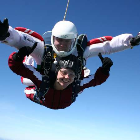 Combine adrenaline-fuelled skydive with raising money for Christian Aid at Wildgeese skydive centre