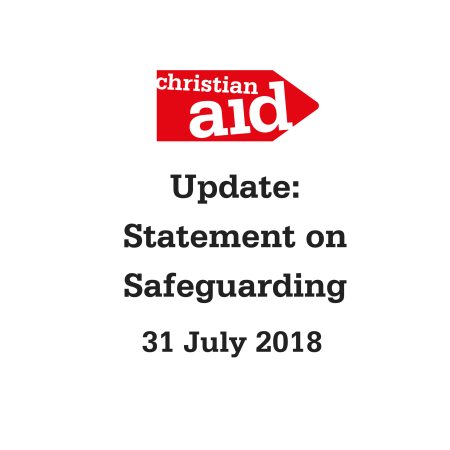 Update from Chief Executive Rosamond Bennett on Safeguarding statement