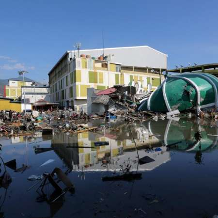 Emergency aid for those affected by Indonesia's earthquake ans tsunami