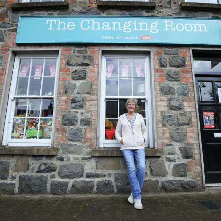 Rachel is Christian Aid's Volunteer Manager at The Changing Room Garvagh