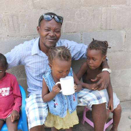 Father's Day this year falls on 16 June and '16 June' is also the name of a Christian Aid Ireland supported community in Angola, which provides housing for former street children who despite growing up fatherless are now embracing fatherhood.
