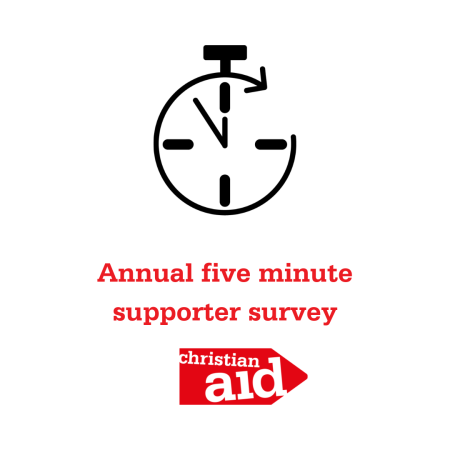 Christian Aid Ireland annual supporter survey