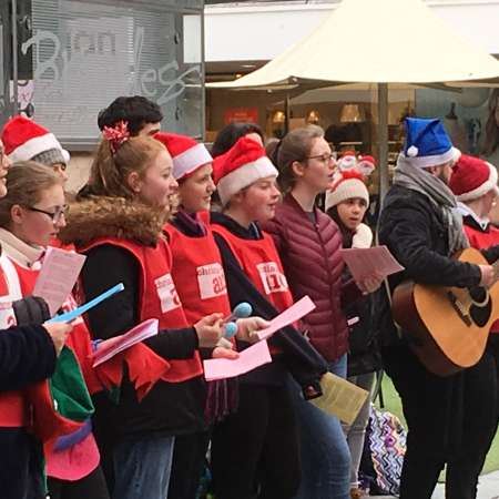 Volunteers, churches and choirs from across the whole island of Ireland will be singing carols and bringing festive cheer to all this Christmas
