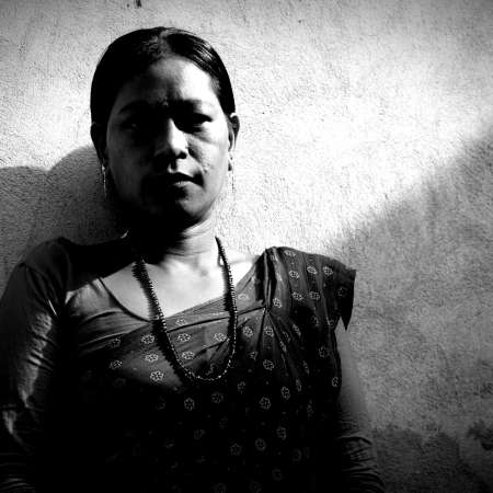 Shanti was a victim of violence and abuse in Nepal